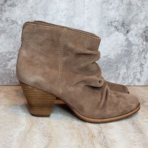 NEW Splendid Rodeo Slouchy Heeled Boots Tan Sz 10